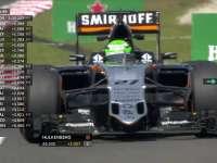 F1马来西亚站FP1:纳斯尔向车队报告赛车转向不足