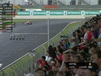F1马来西亚站排位赛Q3停表:罗斯伯格逆转失败