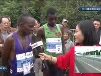 镇马半程马拉松冠亚军产生 肯尼亚选手大赞镇江环境和氛围