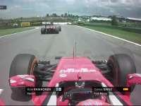 F1巴西站FP2:莱科宁塞恩斯上演模拟缠斗