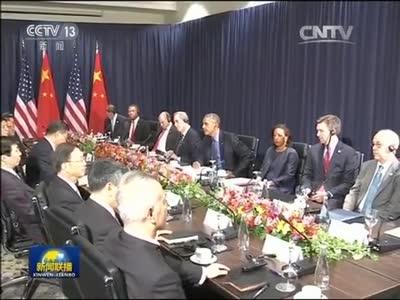 [视频]习近平会见美国总统