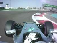 F1阿布扎比站FP3 汉密尔顿失误前轮锁死