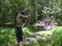 《极限荒野生存教学》第十五期 制造弓箭等打猎