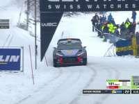 WRC瑞典站SS11:Hayden Paddon