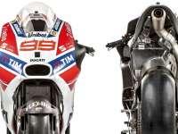 MotoGP杜卡迪2017款赛车高清细节展示