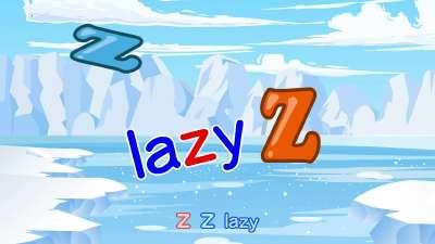字母儿歌 28Zz