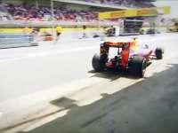 F1西班牙站官方集锦 诞生最年轻的分站冠军