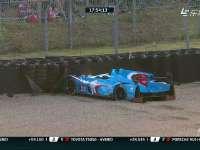 勒芒24小时耐力赛:28号赛车女车手失控撞墙