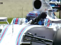 F1奥地利站FP3:博塔斯扔护目镜保护膜扔不掉