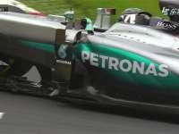F1奥地利站正赛 维特尔轮胎残骸纠缠罗斯伯格