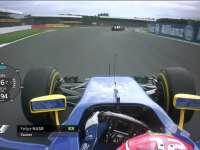 F1英国站FP3全场回顾(车载)