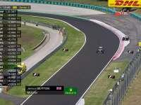 迈队疯狂抢镜!F1匈牙利站FP1:巴顿冲出赛道