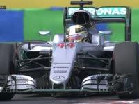 F1匈牙利站FP3:汉密尔顿前翼剧烈抖动