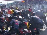 F1比利时站正赛:维斯塔潘干翻法拉利后进站换鼻翼