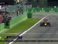 F1比利时站正赛 罗斯伯格冲线圈迎来斯帕首胜