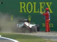 我陷到沙里啦!F1意大利站FP3:格罗斯让停车TR