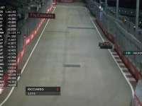 F1新加坡站FP2:车队提醒霍肯伯格注意保护轮胎