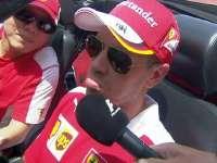 F1马来西亚站车手巡游 维特尔司机实力凑镜头