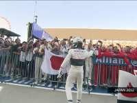 F1日本站经典 2012年小林可梦伟登台车迷狂欢