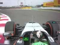F1日本站正赛:霍肯伯格超越博塔斯TR中向77说再见