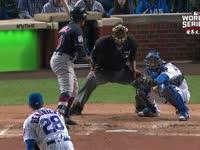 MLB世界大赛 芝加哥小熊 vs克利夫兰印第安人G3 全场录播(中文)