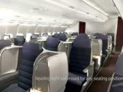 马来西亚航空发布A330商务舱座椅