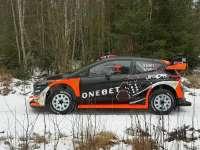 WRC瑞典站赛前试车 奥斯特伯格测试嘉年华