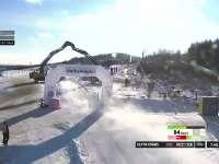 WRC瑞典站SS18:埃文斯万赛成绩9分02秒