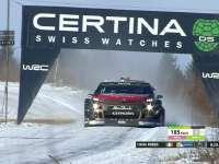 WRC瑞典站SS18:布林完赛成绩9分06秒3