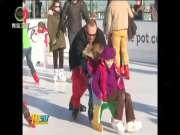 巴黎开放210米高空人工溜冰场受欢迎