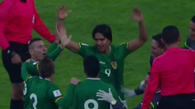 【进球】卓尔外援世预赛发威 门前爆射洞穿阿根廷球门!霸气庆祝