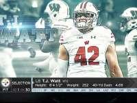 NFL2017选秀大会第30顺位 T.J.瓦特(钢人)