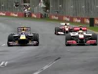 2010年澳大利亚站集锦 雨天事故不断韦伯主场退赛
