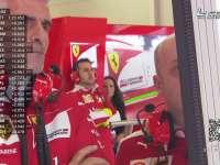 F1澳大利亚FP3 做你背后的女人!大妈P房默默观赛