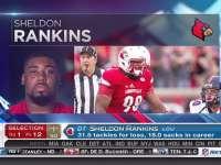 NFL选秀大会第12顺位 谢尔顿-兰金斯 (圣徒)