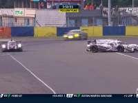 勒芒24小时耐力赛:31号赛车甩尾打滑