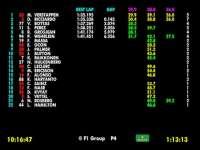 F1英国站FP1全场回顾(数据)
