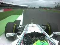 F1英国站排位赛Q1:车手纷纷失误
