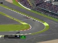 F1英国站正赛:莱科宁出站被超车
