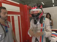 F1比利时站排位赛:奥康护目镜画小太阳卖萌