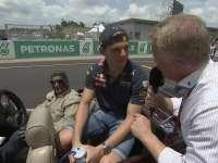 F1马来西亚站车手巡游:维斯塔潘司机有点帅