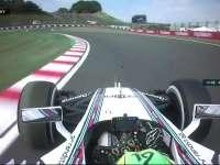 众人齐吃草!F1日本站FP1: 马萨失误吃土