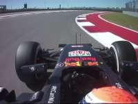 这哈斯干啥呢!F1美国站FP1:维斯塔潘抱怨被挡