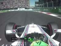F1墨西哥站排位赛Q1:马萨失误轮胎锁死