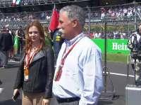F1墨西哥站赛前:F1新老板切斯凯里来到现场