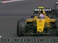F1墨西哥站正赛:巴顿超越帕默尔后被反超