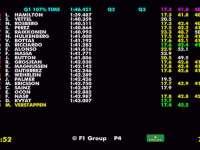 F1阿布扎比站排位赛全场回放(数据)