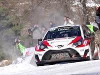 WRC蒙特卡洛站Day2米其林集锦:冰雪山路挑战极限