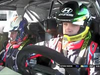 WRC瑞典站SS18:帕登完赛落后队友6.1秒