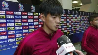 颜骏凌:国足需要每场必争 经验帮助球队克服密集赛程